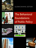 Leitura: The Behavioral Foundations of Public Policy