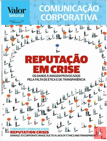 Capa revista Comunicação Corporativa - Nov 2015