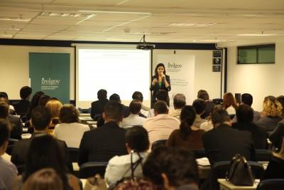 O IRELGOV apresentou os resultados da 1ª fase da Pesquisa de Reputação do Profissional de Relações Governamentais, no IBMEC, em Brasília.