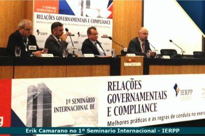 Líderes do IRELGOV fortalecem imagem do Instituto em eventos setoriais