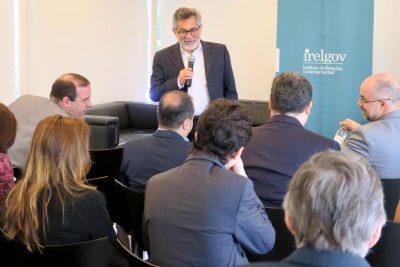 Café da manhã com o ex-Ministro de Planejamento, Orçamento e Gestão, Martus Tavares