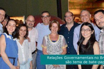 Diferenças entre relações governamentais no Brasil e na Europa são tema de bate-papo com associados