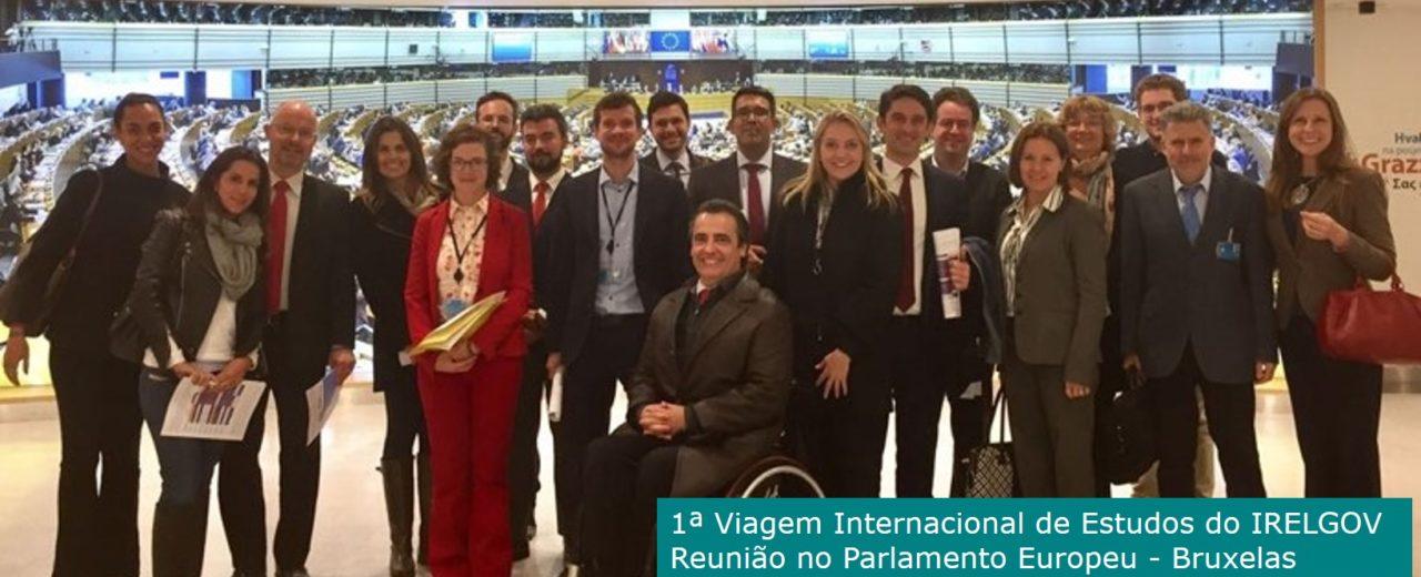 1ª Viagem Internacional de Estudos Parlamento Europeu – Bruxelas
