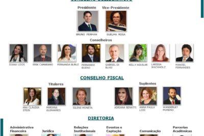Novos Conselhos Deliberativo e Fiscal do IRELGOV, eleitos em Assembleia Ordinária de 26 de Abril e nova Diretoria
