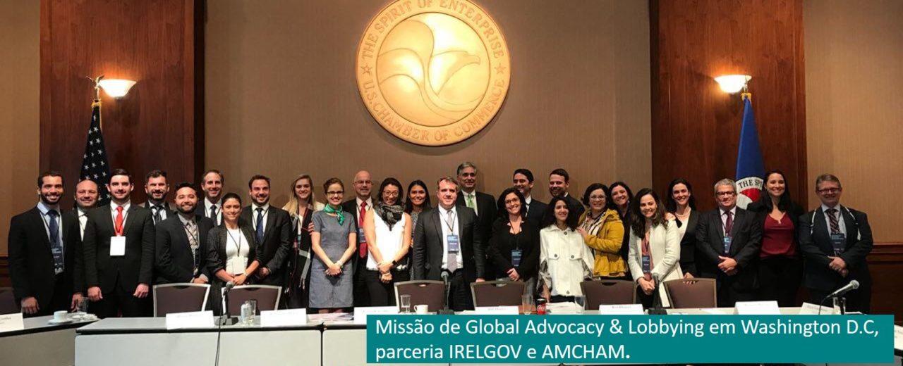 Missão de Global Advocacy & Lobbying em Washington D.C