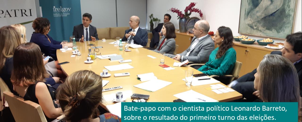 Bate-papo com o cientista político Leonardo Barreto